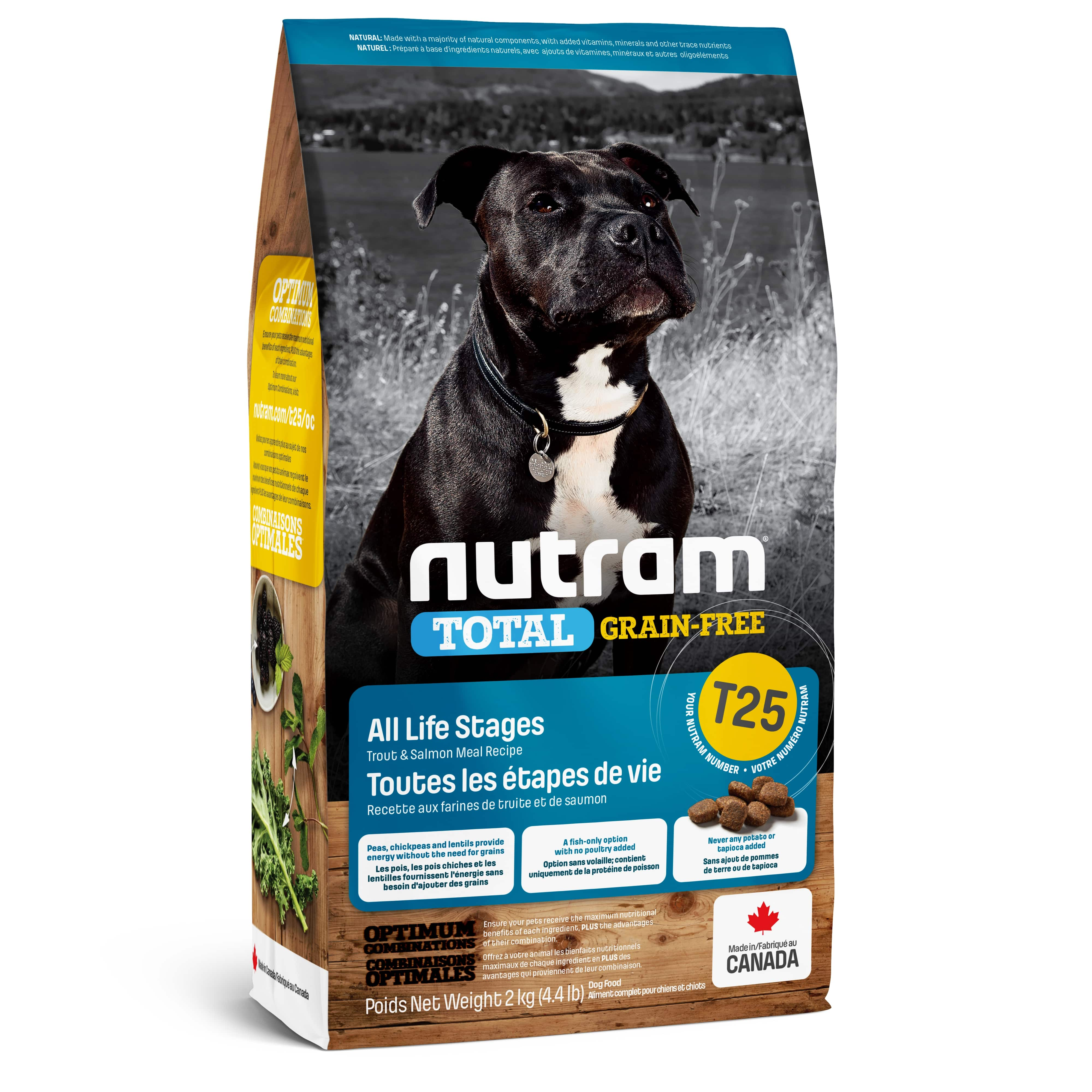 T25 Nutram Total Grain-Free® Salmon & Trout Dog Food