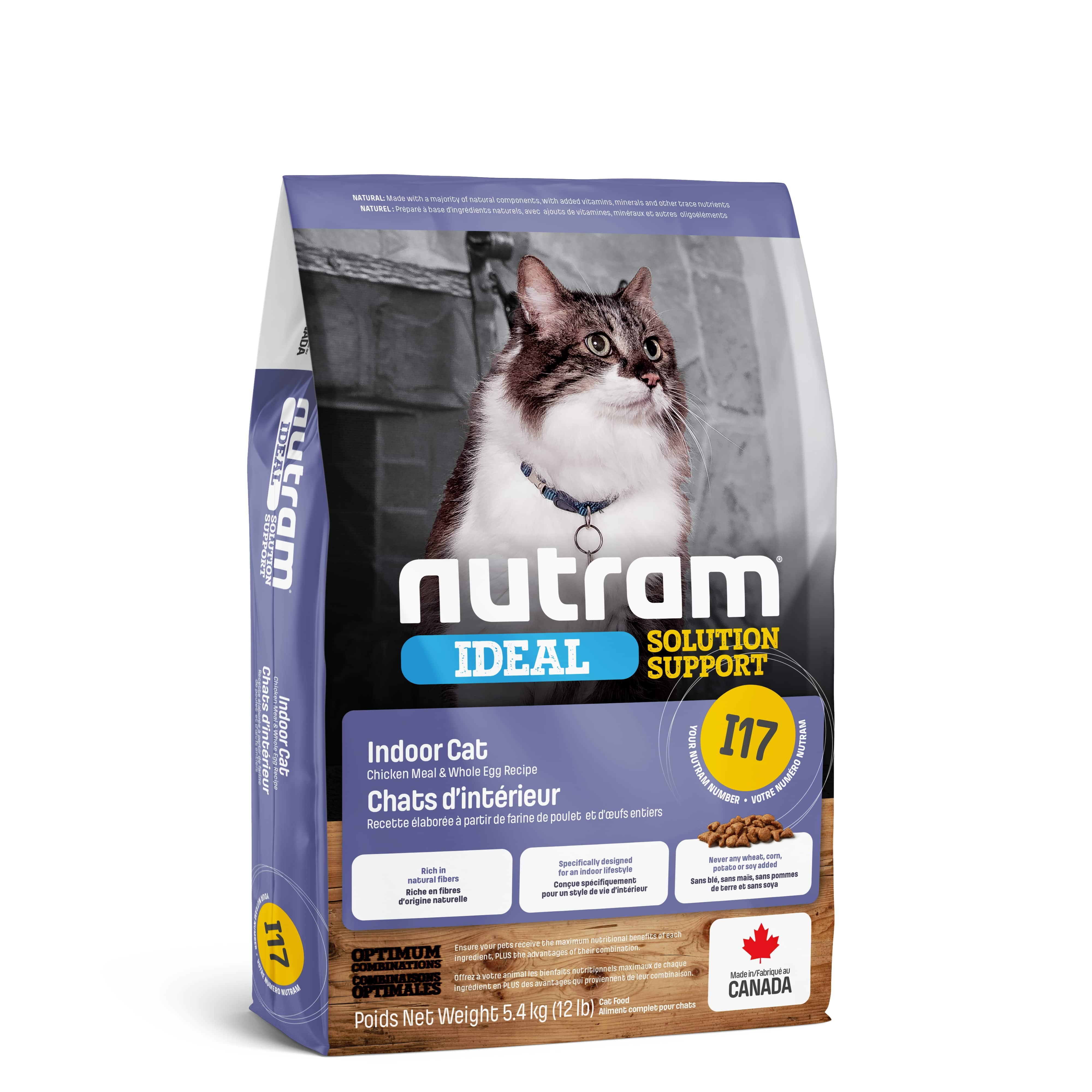 I17 Nutram Ideal Solution Support® Finicky Indoor Cat Food