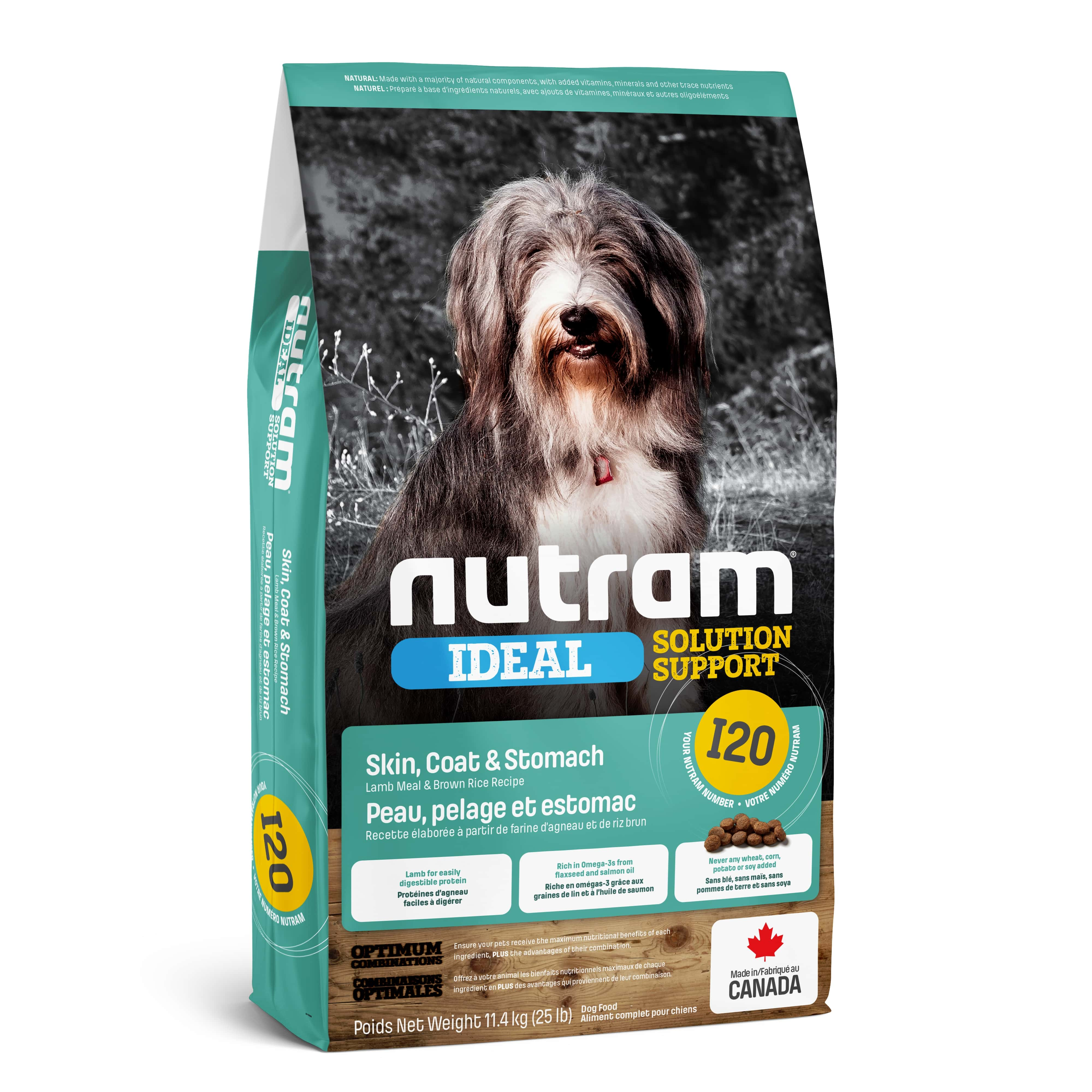 I20 Nutram Ideal Solution Support® Sensitive Dog Natural Food